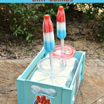 DIY Frozen Treat Holder for a Bomb Pop Filled Summer
