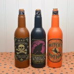 DIY Halloween Potion Bottles Decoration