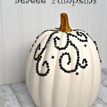 Beaded Pumpkin