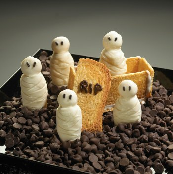 Mummy cookies Halloween Recipe