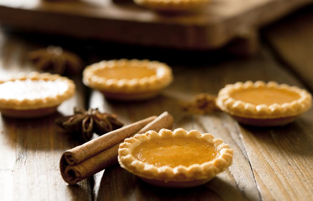 Gluten Free Pumpkin Pie Tartlets - Healthy Thanksgiving Recipe - Three ...
