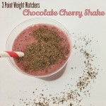 Chocolate Cherry Shake – 3 Points