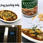 Quick Easy Zucchini Bake for a Lunch or Side Dish