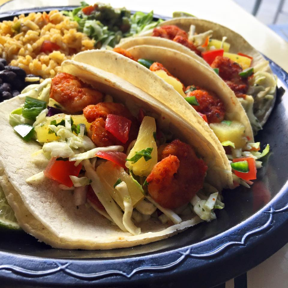 Mexican Food Tacos N Salsa