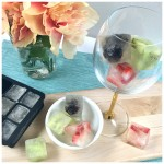 Spiked Fruit Ice Cubes