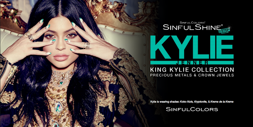 SinfulColors Kylie Jenner Nail Polish Collection - Three Different ...