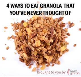 uses for granola