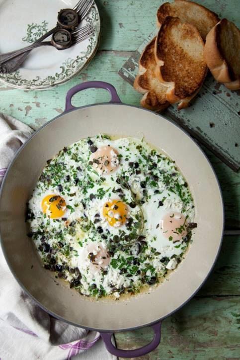 Greek Baked Eggs