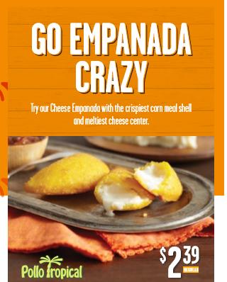 Pollo Tropical Empanadas