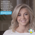 Julianne Hough Partners with Sonic Drive-In to Launch $1 Million #ThanksTeach Campaign