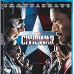 Marvel's Captain America: Civil War On Digital HD on Sept. 2 and Blu-ray on Sept. 13