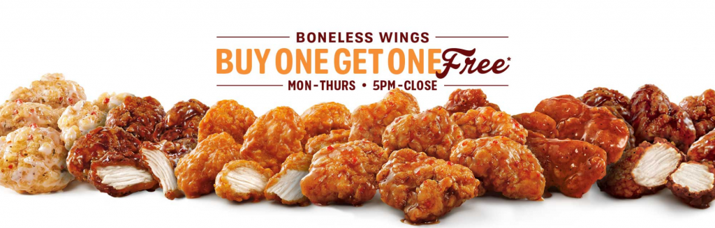 Sonic S Wing Night In America Is Back With New Flavors Three Different Directions
