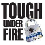 October is Fire Prevention Month – Master Lock is Tough Under Fire #LSSS