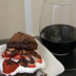 Strawberry Chocolate Shortcakes for Merlot Month