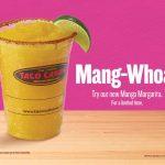 New Sweet and Spicy Mango Margarita from Taco Cabana