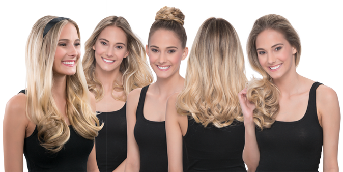 Secret extensions daisy fuentes line of hair extensions three you can cut curl wash and straighten your extensions as they look feel and perform like real hair pmusecretfo Gallery