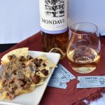 BBQ Beef Nachos Paired With CK Mondavi for Game Day Parties!