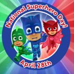 This Friday, Celebrate National Superhero Day – the PJ Masks Way!