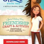 """""""Spirit Riding Free"""" Horses Activity Pack with Friendship Bracelets, Picture Frames and More!"""