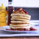 Maple Cranberry Granola Pancakes – Mother's Day ~Breakfast in Bed~ Recipe