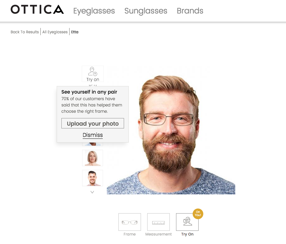 Shop for Affordable Quality Glasses Online at Ottica - Three ...