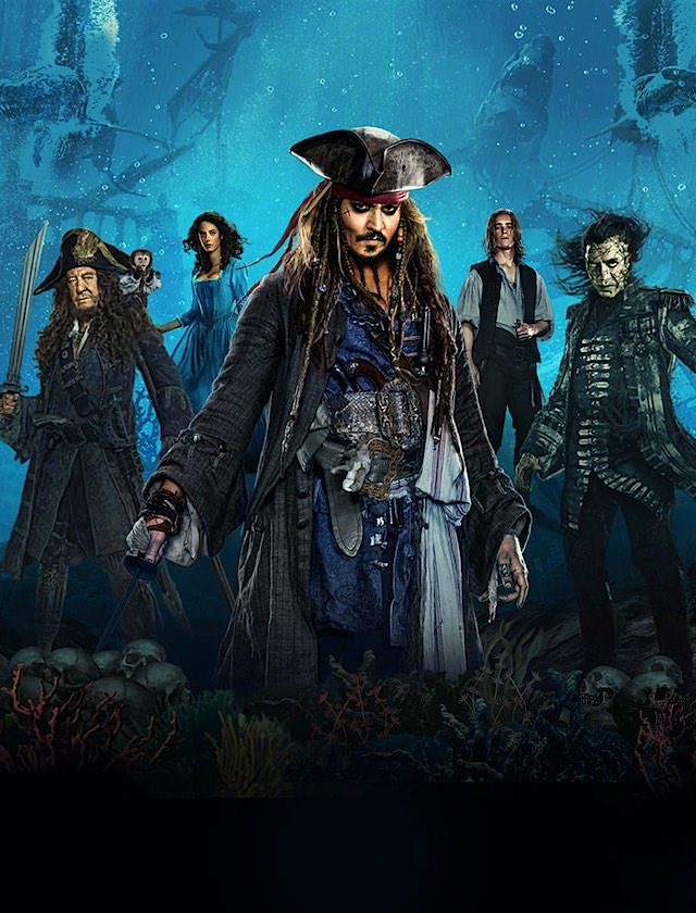 Watch Like A Pirate Pirates Of The Caribbean Dead Men Tell No