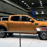 New 2019 Ford Ranger at the DFW Auto Show