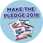 """Make the Pledge"" with Little Bites and TerraCycle"