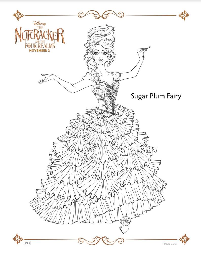 nutcracker clare coloring pages - photo#19