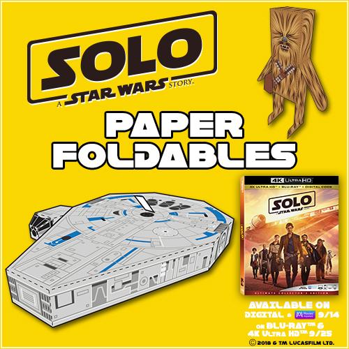 star wars papercraft