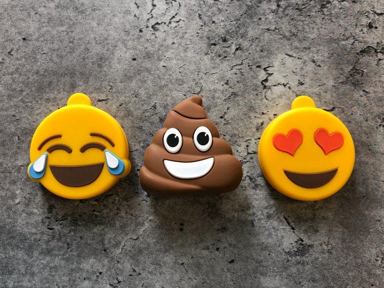 emoji shaped flash drives